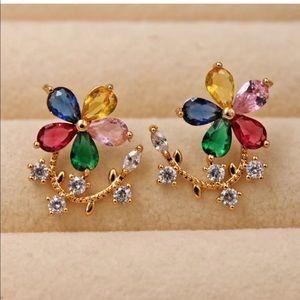 Fun and flirty colors earrings